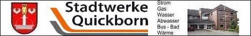 Werbelogo der Stadtwerke Quickborn